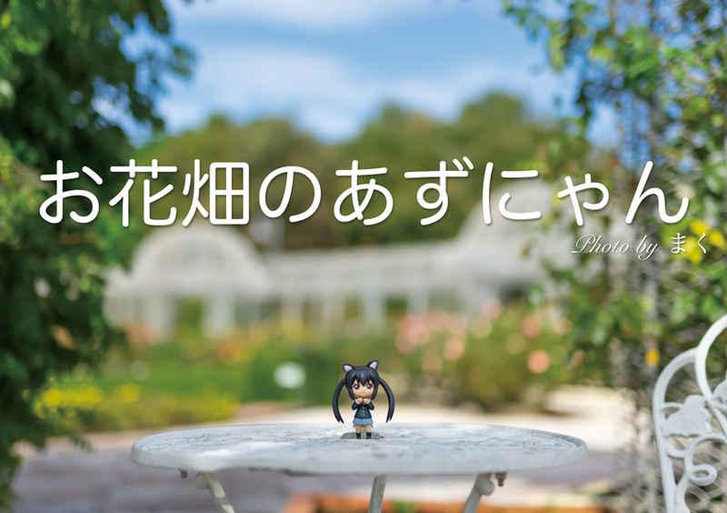 お花畑のあずにゃん [夢の現(まく)]