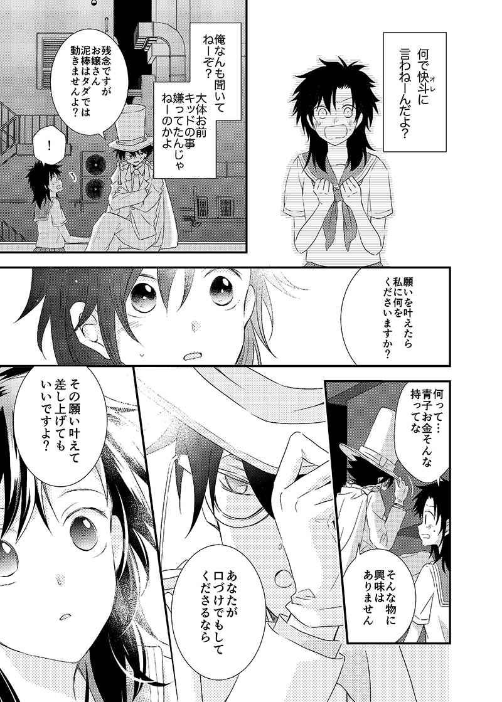 小説 黒羽 快 斗