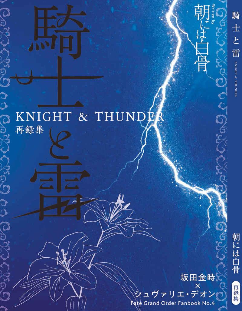 騎士と雷 [朝には白骨(ホイテロート)] Fate/Grand Order
