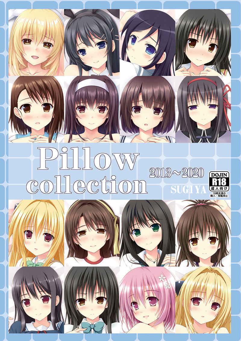 Pillow collection2013-2020