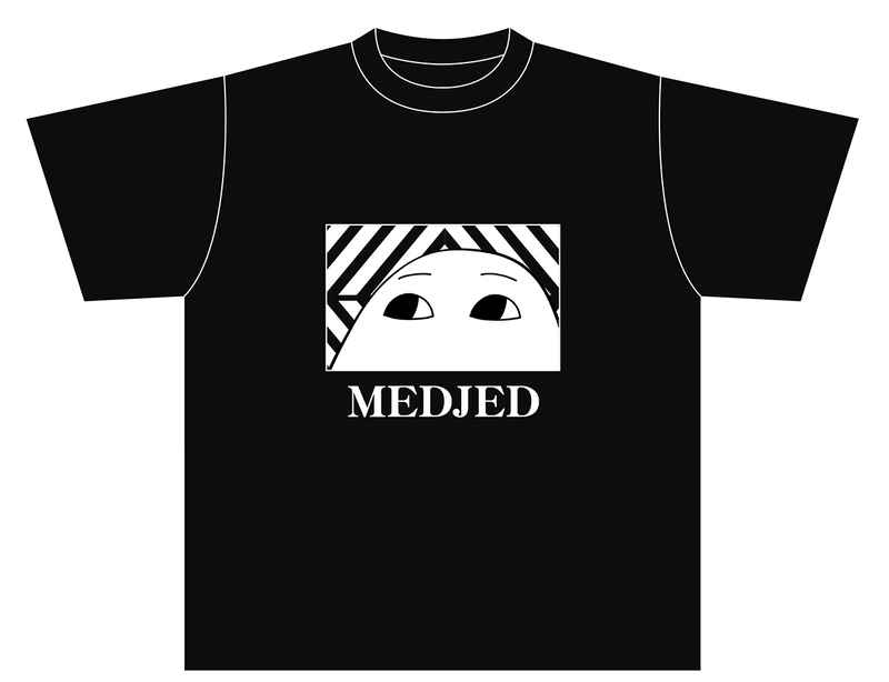 Tシャツ「メジェド様」Lサイズ [逸遊団(ひびの)] オリジナル