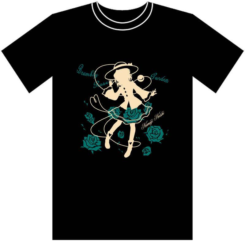 東方Tシャツ 「ブランブリーローズガーデン」 Mサイズ