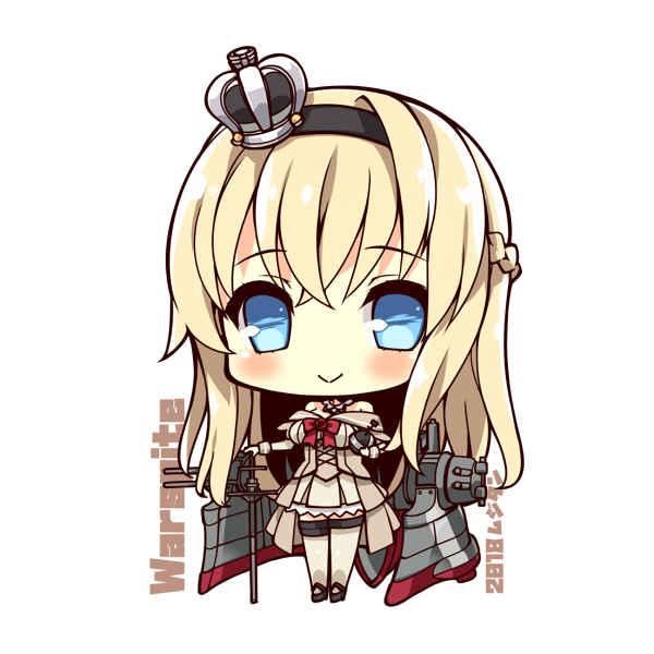 戦艦ウォースパイト SDキャラアクリルキーホルダー [むじたん(つむじぃ)] 艦隊これくしょん-艦これ-