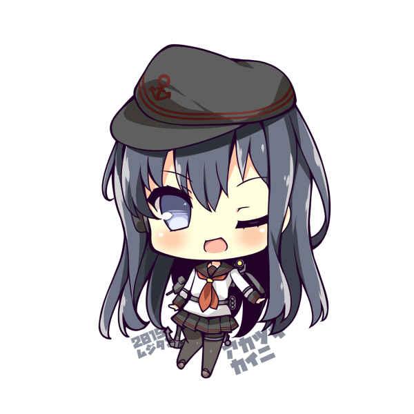 駆逐艦暁改二 SDキャラアクリルキーホルダー [むじたん(つむじぃ)] 艦隊これくしょん-艦これ-