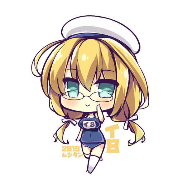 潜水艦伊8 SDキャラアクリルキーホルダー [むじたん(つむじぃ)] 艦隊これくしょん-艦これ-
