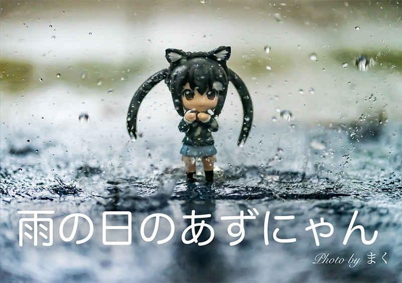 雨の日のあずにゃん
