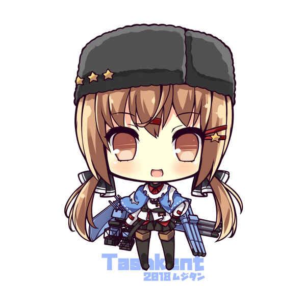 駆逐艦タシュケント SDキャラアクリルキーホルダー [むじたん(つむじぃ)] 艦隊これくしょん-艦これ-