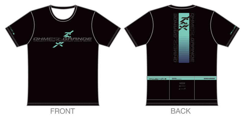 オーメストグランデ ツーリングTシャツ 2050年夏モデル【XLサイズ】 [チョコレートショップ(CHOCO)] オリジナル