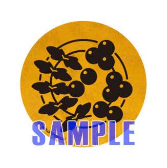 【蔵人美男児展】お花缶ストラップ17 七竈 [ツクルノモリ株式会社(―)] オリジナル
