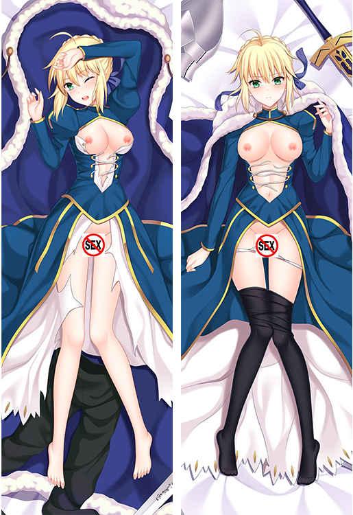 Fate/stay night セイバー アルトリア・ペンドラゴン 工口 R18 抱き枕カバー 50x150CM selection1 [楽園(melody)] Fate
