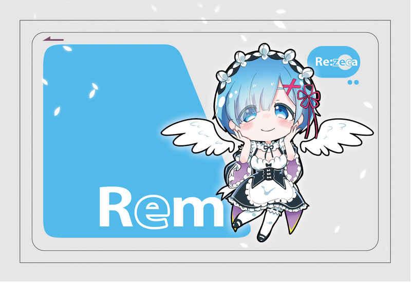 リゼロ・レム:ICカードステッカー [エムピィ(sachi)] Re:ゼロから始める異世界生活