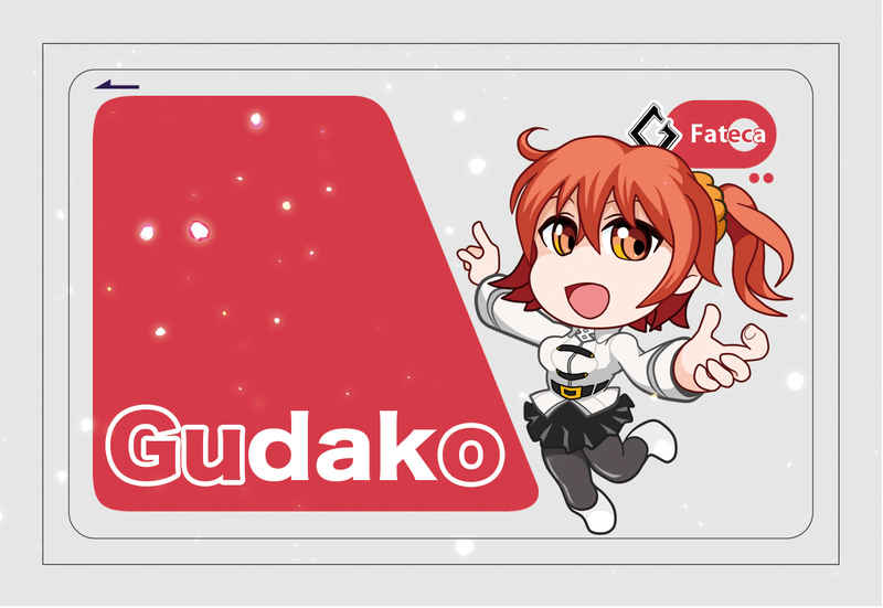 FGOぐだ子:ICカードステッカー [エムピィ(Poyota)] Fate/Grand Order