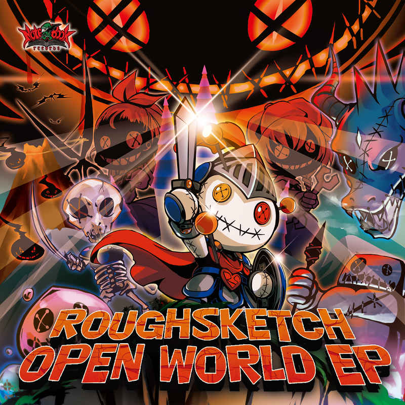 RoughSketch / OPEN WORLD EP [Notebook Records(RoughSketch)] オリジナル