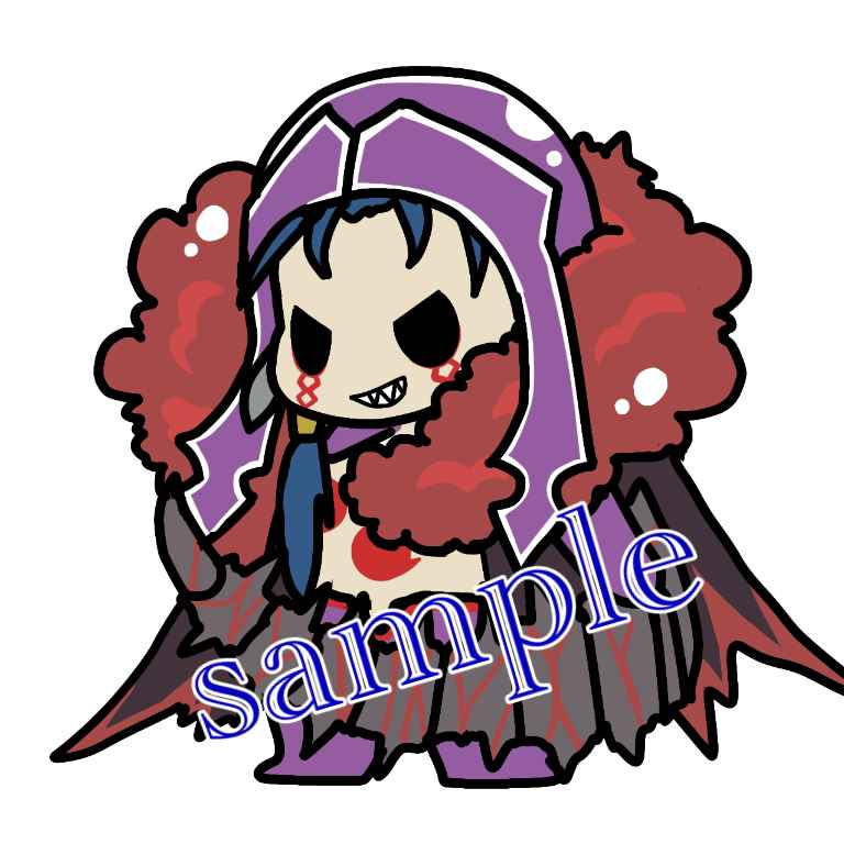 FGO★クーフーリン・オルタ、アクリルキーホルダー [BUKKAKE★いちごみるく(千己)] Fate/Grand Order
