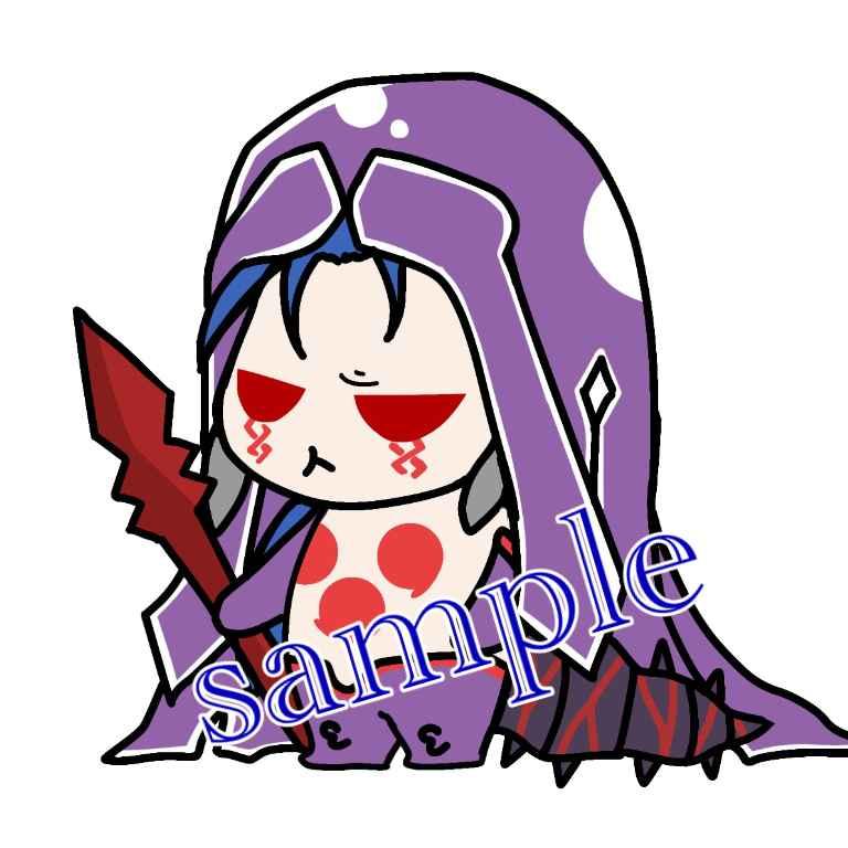 FGO★ミニクーちゃん、アクリルキーホルダー [BUKKAKE★いちごみるく(千己)] Fate/Grand Order