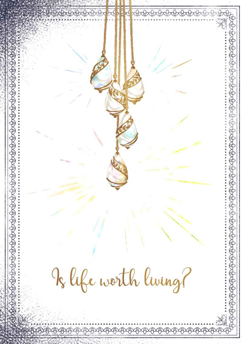 Is life worth living? [textile(seki)] 本好きの下剋上