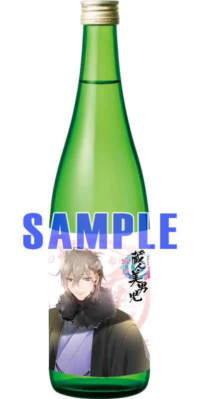 「蔵人美男児」白米花吟慈(絵 このか)清夜(純米酒)720ml [ツクルノモリ株式会社(このか)] オリジナル