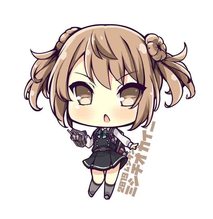 駆逐艦満潮改二 SDキャラアクリルキーホルダー  [むじたん(つむじぃ)] 艦隊これくしょん-艦これ-