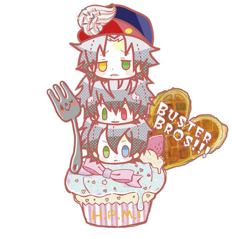ヒプマイ イケブクロディビジョンカップケーキアクキー [choco_chocon(ちょこん)] ヒプノシスマイク