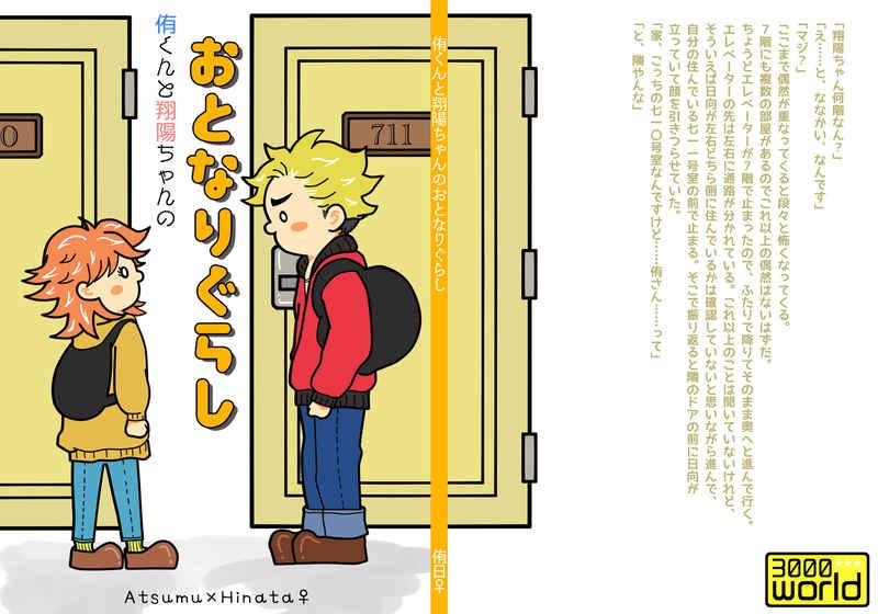 侑くんと翔陽ちゃんのおとなりぐらし [3000world(アラシ)] ハイキュー!!