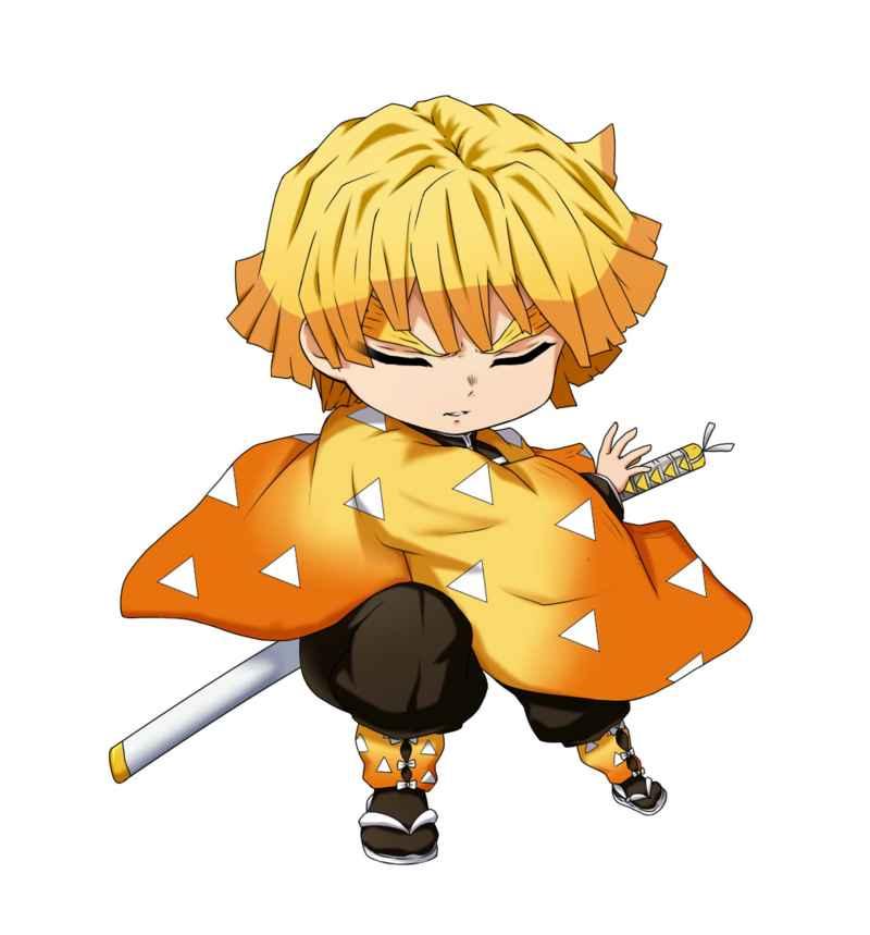 鬼滅の刃 善逸 耐水ステッカー 2 [コパン(Ryo)] 鬼滅の刃