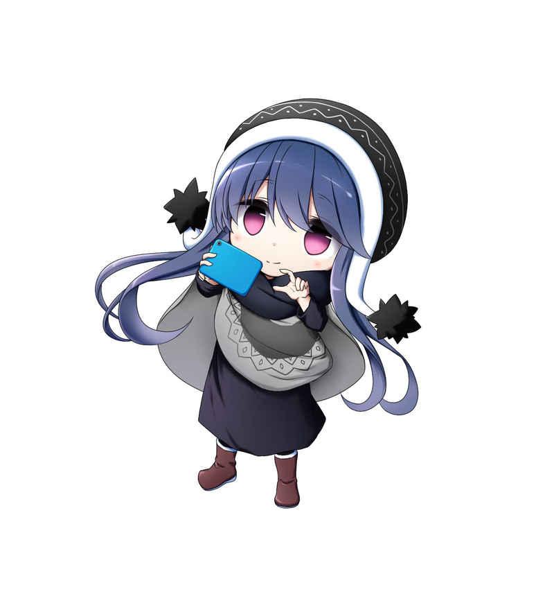 ゆるキャン△志摩リン 耐水ステッカーC [コパン(Ryo)] ゆるキャン△
