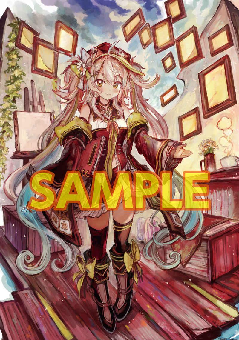 ≪作品セット≫B2タペストリー【購入対象:START MY STORY】 [CAMOMI Camomi Creative(鴨見カモミ)] オリジナル