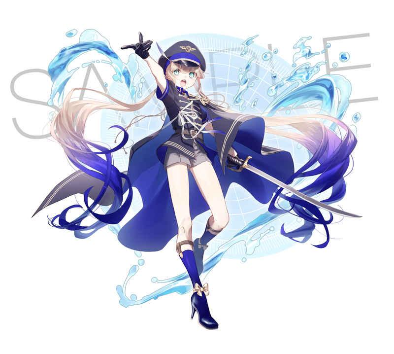 キャプテン・ネモのアクスタ [天色アイリス(月結草)] Fate/Grand Order