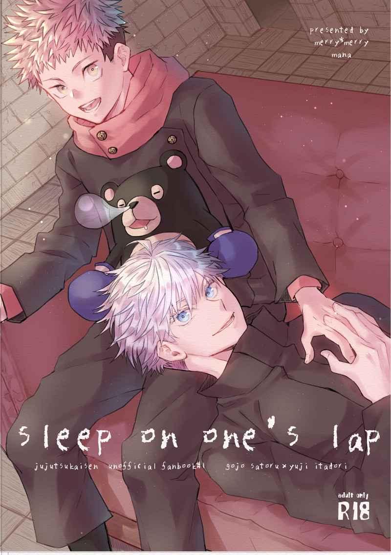 sleep on one's lap [merry*merry(mana)] 呪術廻戦