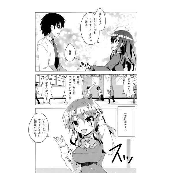 カフェちゃんを眺める本~カフェちゃんとスクールライフ~