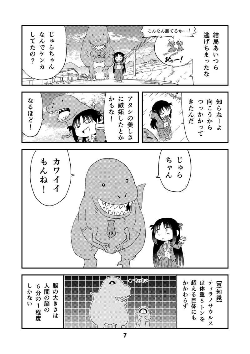 幼なじみがティラノサウルス