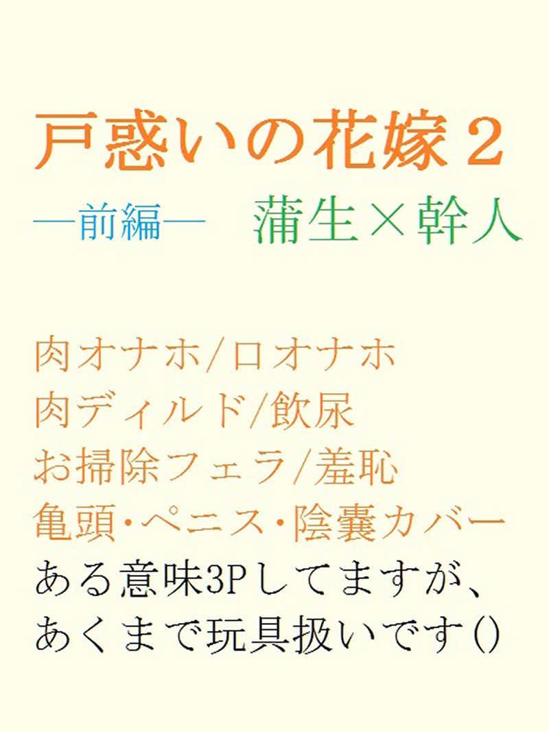 戸惑いの花嫁2―前編― [gooneone(gooneone)] オリジナル