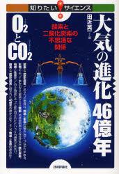大気の進化46億年O2(さんそ)とCO2(にさんか
