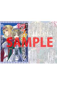 【特 典】 両面イラストカード (野生のラスボスが現れた! 8)