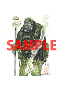 【特典】描き下ろしイラストカード(ドロヘドロ 23)
