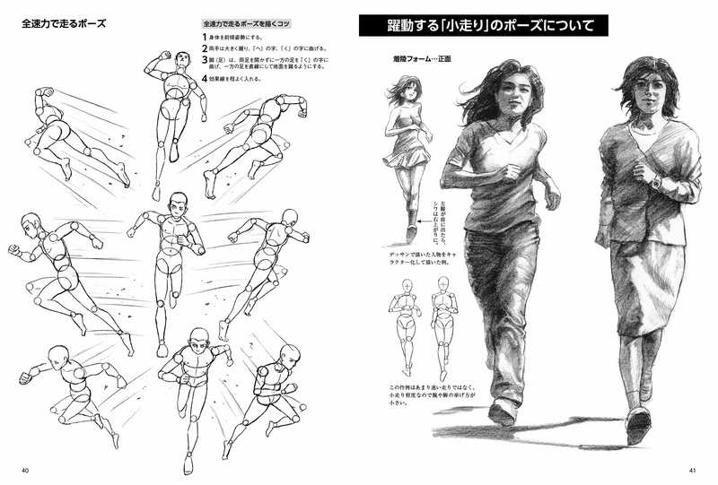 躍動するスーパーデッサン アクション・空手編