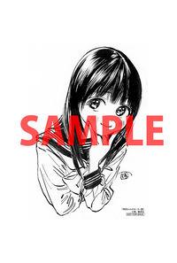【特典】特製イラストカード(明日ちゃんのセーラー服 5)