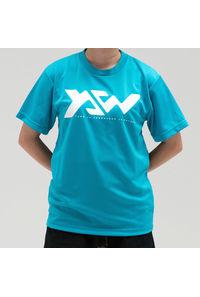 『山と食欲と私』Tシャツ <YSW>エメラルドグリーン L