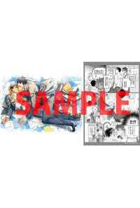 【特典】描き下ろし入り両面イラストカード(恋情ディスカッション)