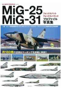 MiG-25フォックスバット/MiG-31フォックスハウンドプロファイル写真集