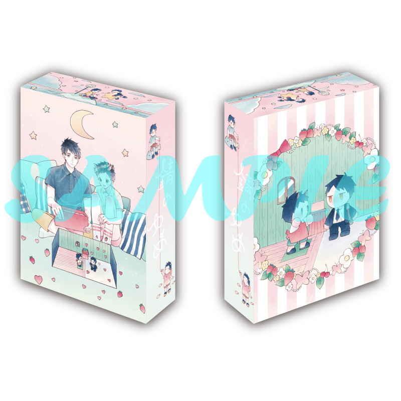 【有償特典】収納BOX&小冊子(錆のゆめ 左右)