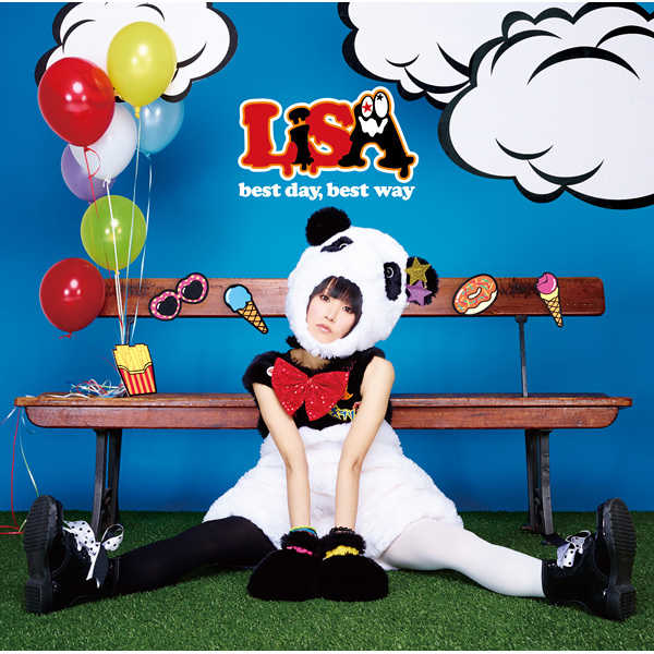 (CD)best day, best way(通常盤)/LiSA