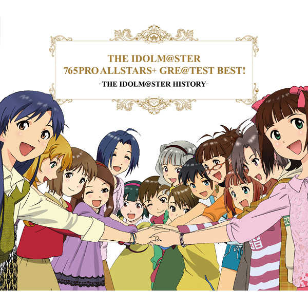 (CD)THE IDOLM@STER 765PRO ALLSTARS+ GRE@TEST BEST! -THE IDOLM@STER HISTORY-