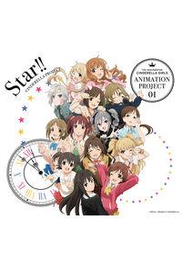 (CD)「アイドルマスター シンデレラガールズ」オープニングテーマ THE IDOLM@STER CINDERELLA GIRLS ANIMATION PROJECT 01 Star!! (初回限定盤CD+Blu-ray)