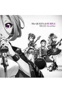 (CD)TRIGGER / Fire and Rose(通常盤)/The QUEEN of PURPLE
