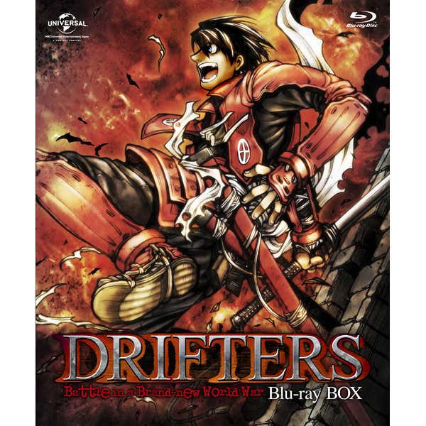 (BD)DRIFTERS Blu-ray BOX(特装限定生産) とらのあな特典付き