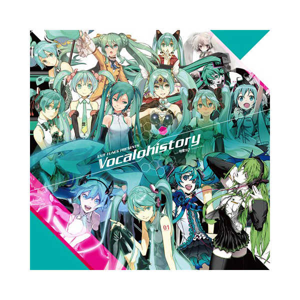 (CD)EXIT TUNES PRESENTS Vocalohistory feat.初音ミク【3939セット限定生産盤】