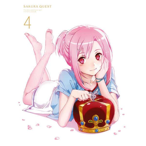 (BD)サクラクエスト Vol.4 Blu-ray 初回生産限定版