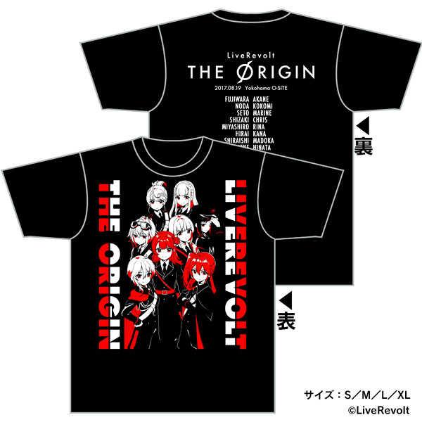 (OTH)「ライブレボルト」ライブレボルト THE ORIGIN Tシャツ (Lサイズ)