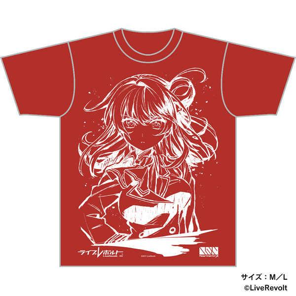 (OTH)「ライブレボルト」Re:animationX×ライブレボルト コラボTシャツ(Lサイズ)